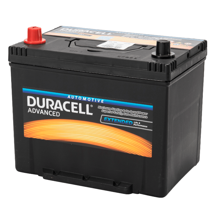 Auto accu Duracell Advanced BDA 70L 12V 70Ah