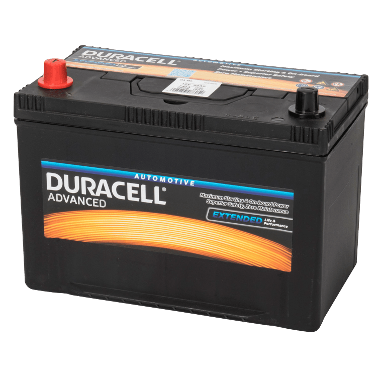Auto accu Duracell Advanced BDA 95L 12V 95Ah