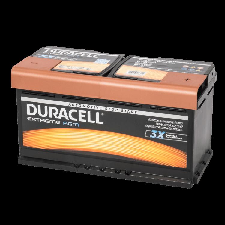 Auto accu Duracell Extreme BDE 92 AGM (12V 92Ah)