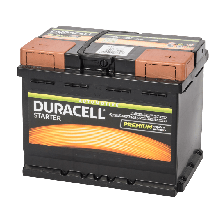 Auto accu Duracell Starter BDS 62 12V 62Ah