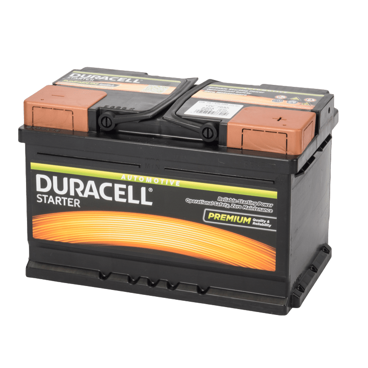 Auto accu Duracell Starter BDS 70 12V 70Ah