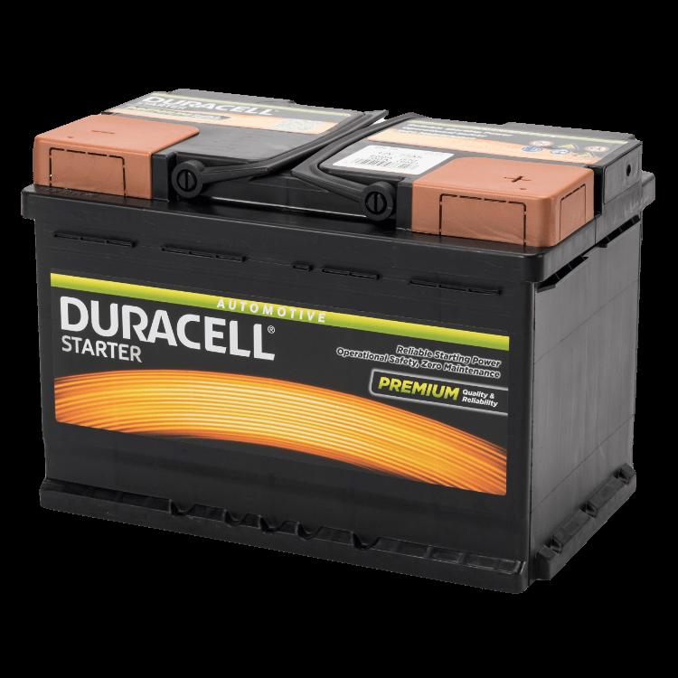 Auto accu Duracell Starter BDS 72 12V 72Ah