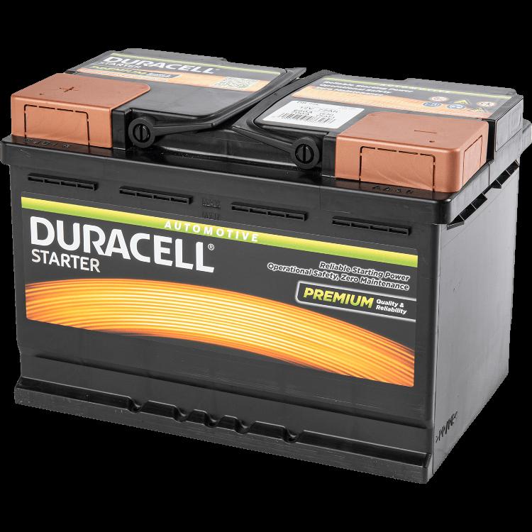 Auto accu Duracell Starter BDS 72L 12V 72Ah