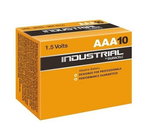 Duracell Industrial LR03 AAA 1,5V Alkaline 10 stuks