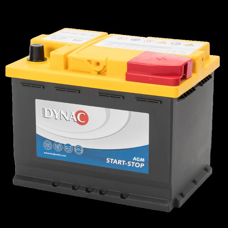 Dynac AGM Start-Stop Auto Accu 12 V 60Ah
