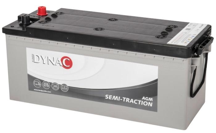 Dynac AGM Semi Tractie accu ST130 12V 130Ah