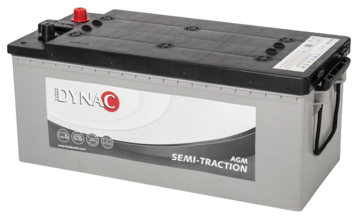 Dynac AGM Semi Tractie accu ST180 12V 180Ah