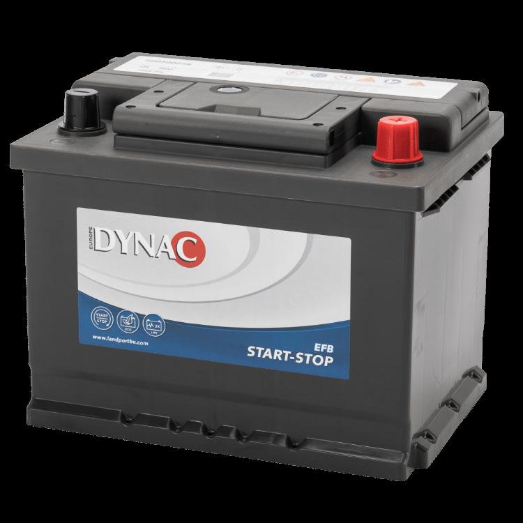 Dynac EFB Start-Stop Auto Accu 12 V 60Ah