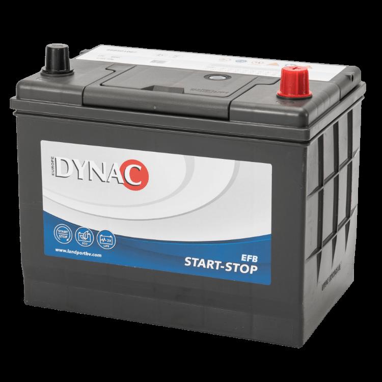 Dynac EFB Start-Stop Auto Accu 12 V 68Ah