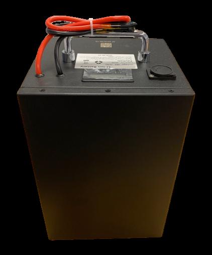 Lithium accu 48V 30Ah (13S) inclusief 6A lader