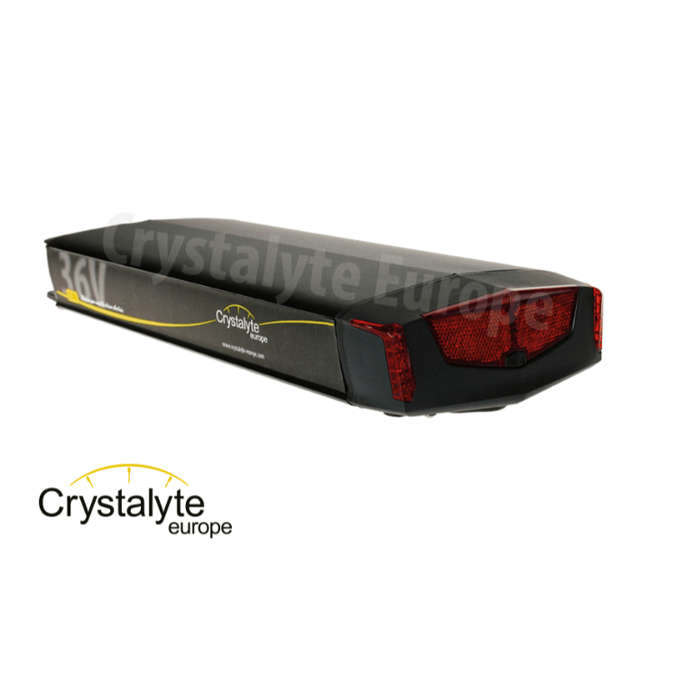 Elektrische fiets accu revisie Crystalyte Adventure Rack