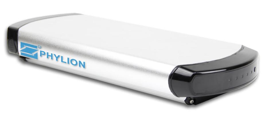 Elektrische fiets accu Phylion XH370-10J Wall-E 37V 12Ah (2-Polig)