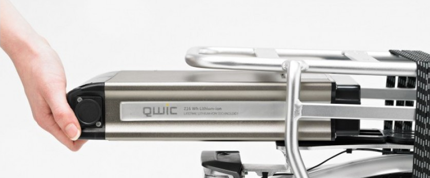 Elektrische fiets accu revisie Qwic 216 36V 6Ah