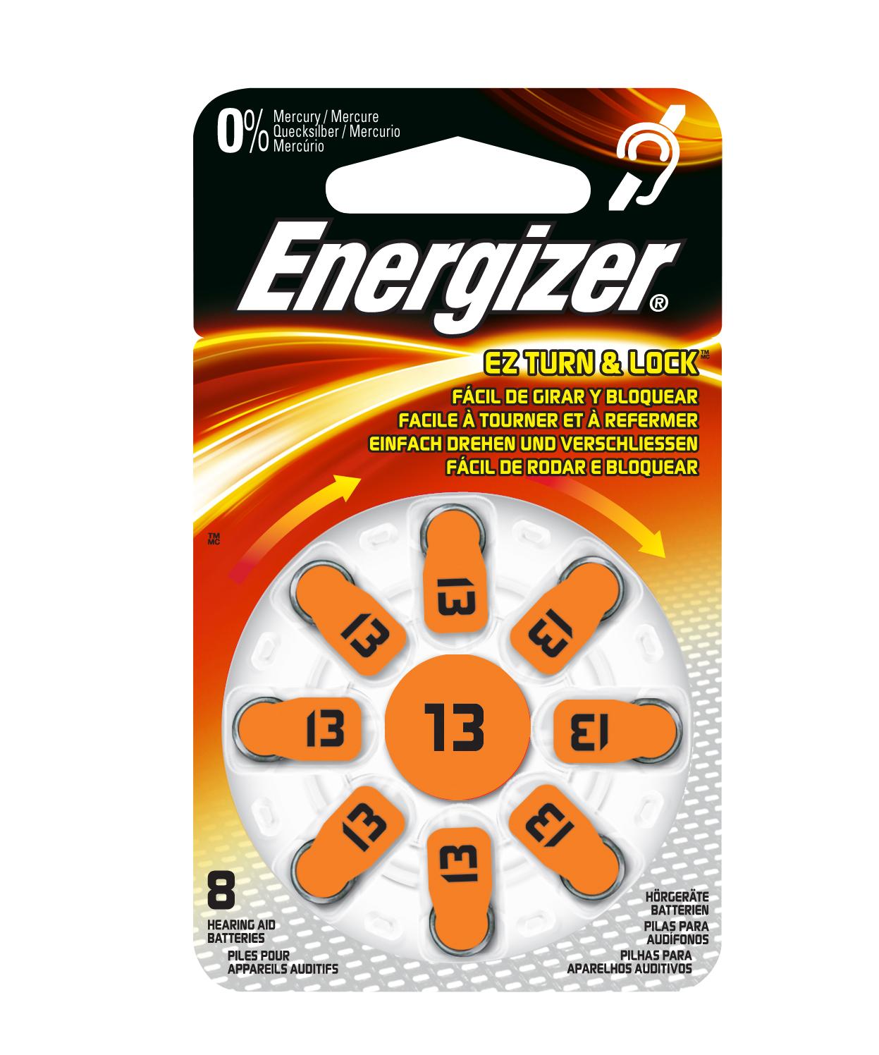 Energizer AC 13 hoortoestel batterijen