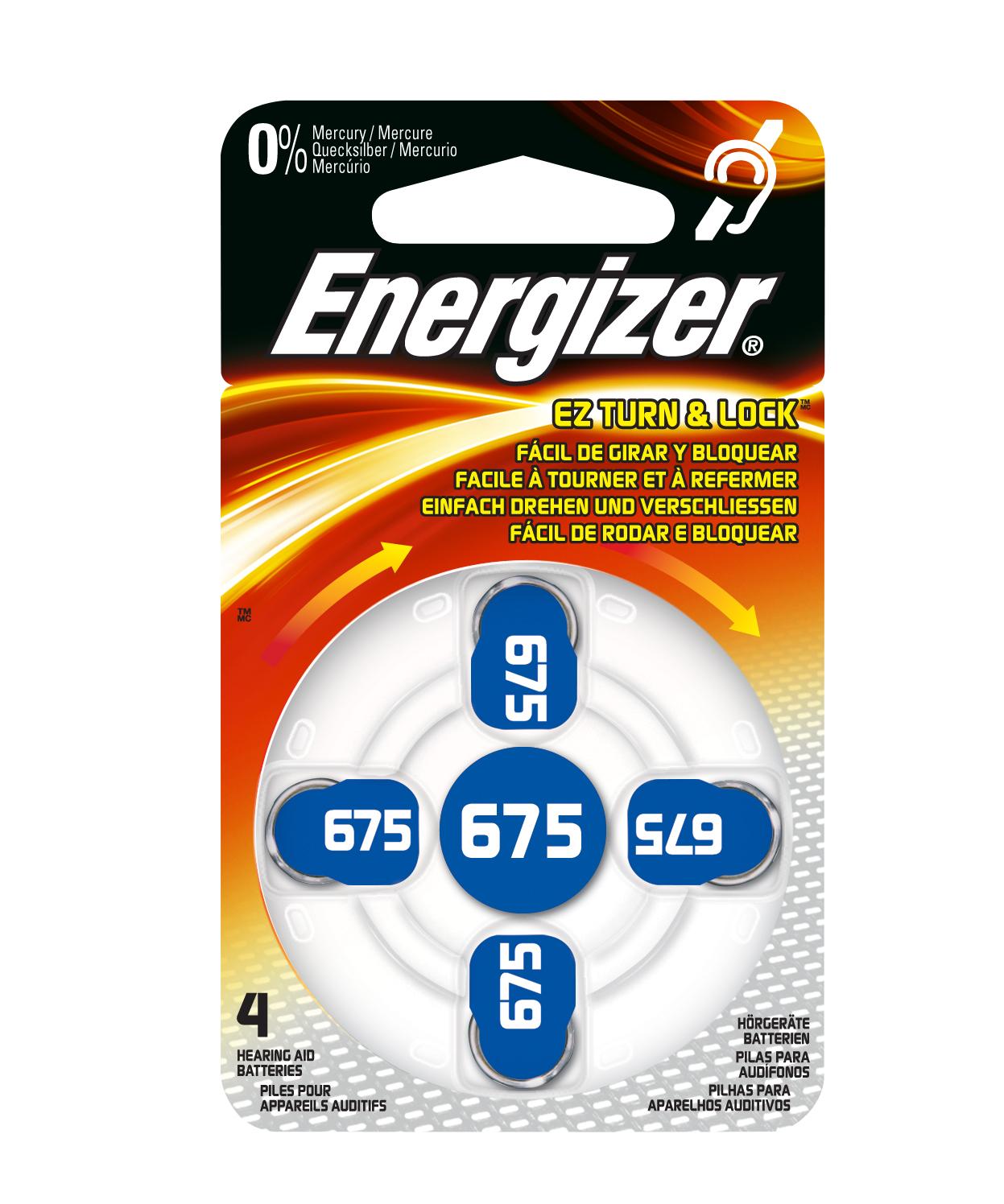 Energizer AC 675 hoortoestel batterijen