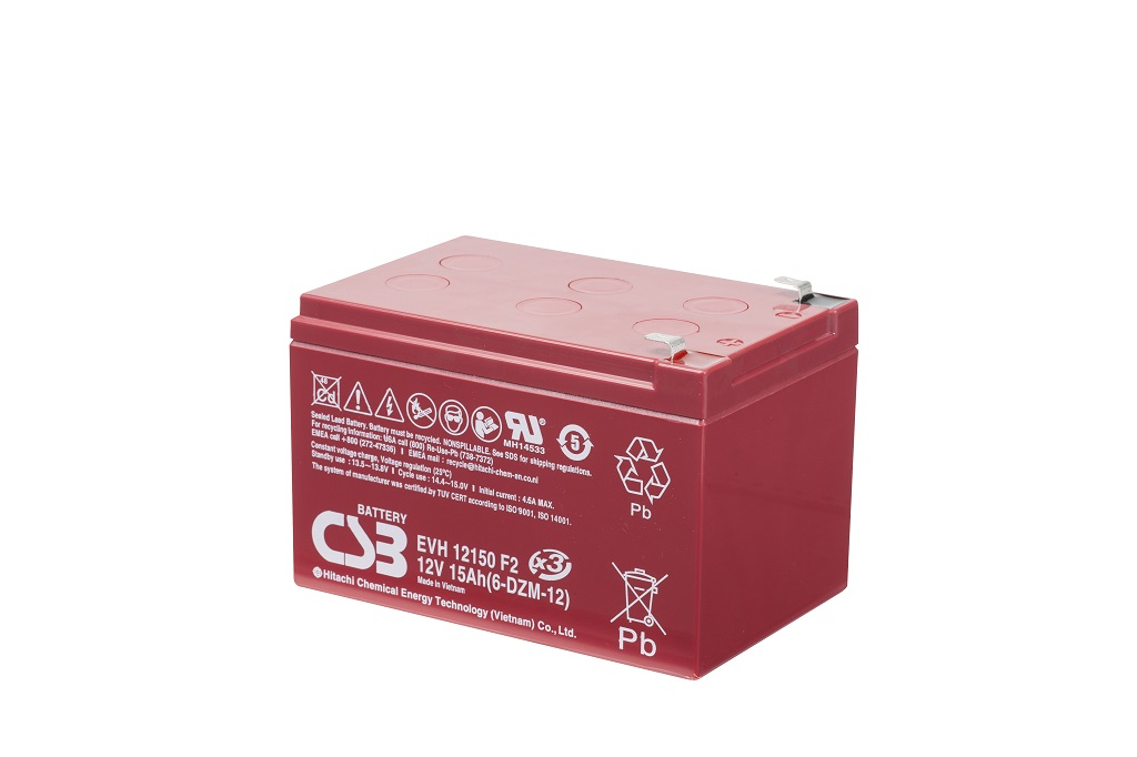 AGM Loodaccu 12V 15Ah EVH12150 F2 van CSB Battery