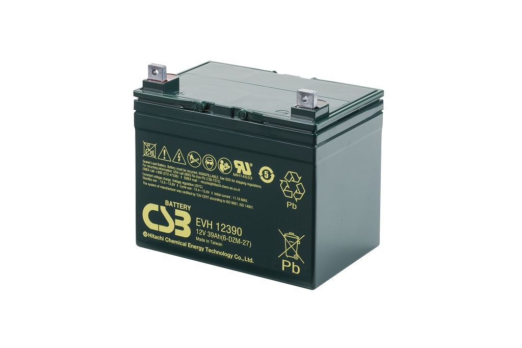 AGM Loodaccu 12V 39Ah EVH12390 van CSB Battery