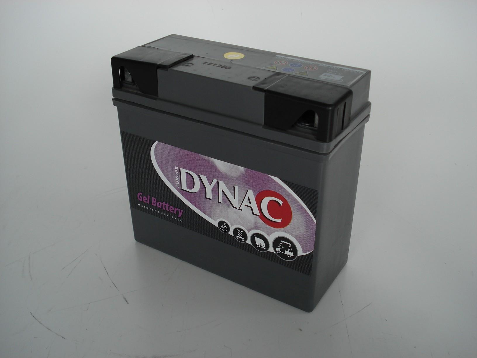 Dynac Gel accu 12V 19Ah (20h)
