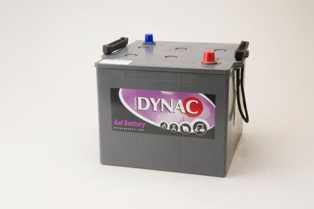 Dynac Gel accu 12V 110Ah (20h)