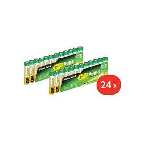 GP AAA Batterijen ValuePack 24 stuks