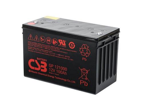 GP121000 van CSB Battery AGM loodaccu 12V 100Ah