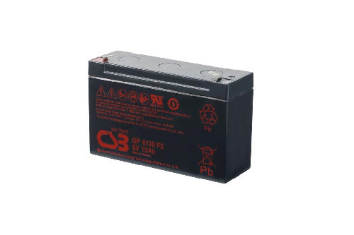 GP6120 van CSB Battery AGM loodaccu 6V 12Ah