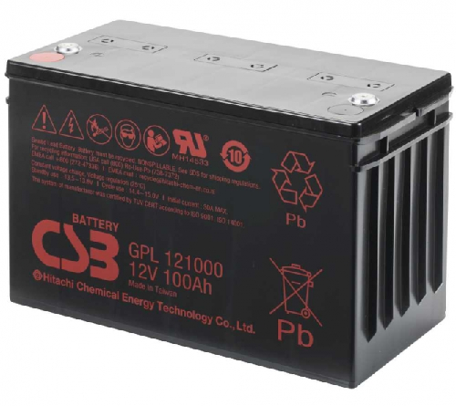 GPL121000 van CSB Battery