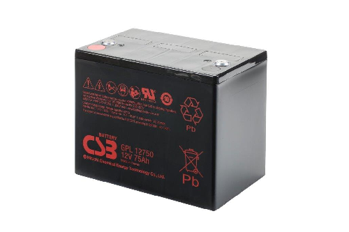 GPL12750 van CSB Battery