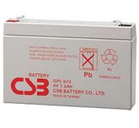 GPL672 van CSB Battery