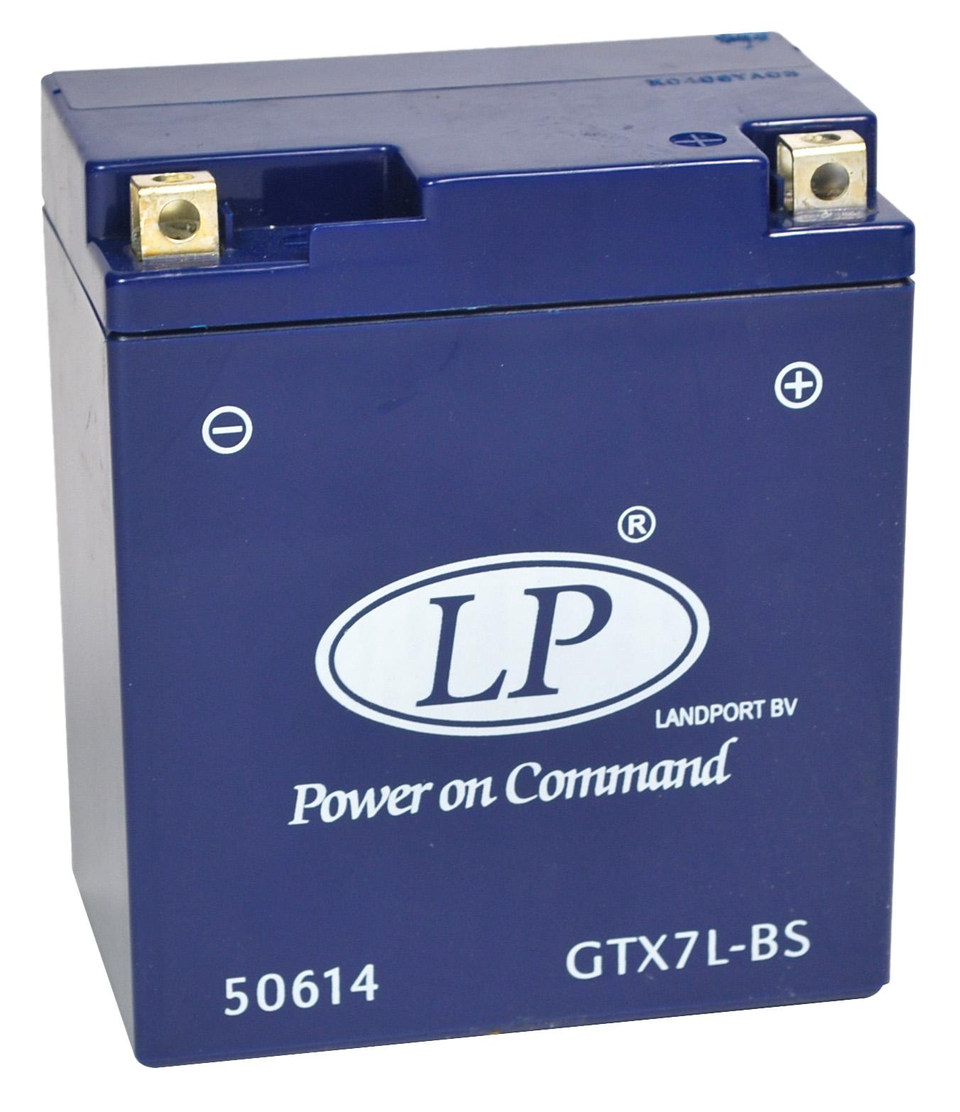 GTX7L-BS motor accu Gel