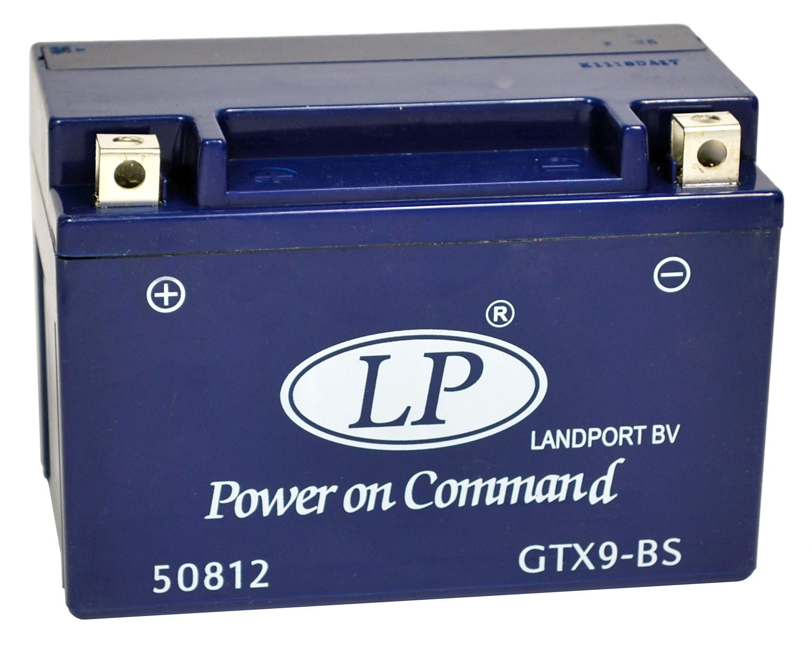 GTX9-BS motor accu Gel