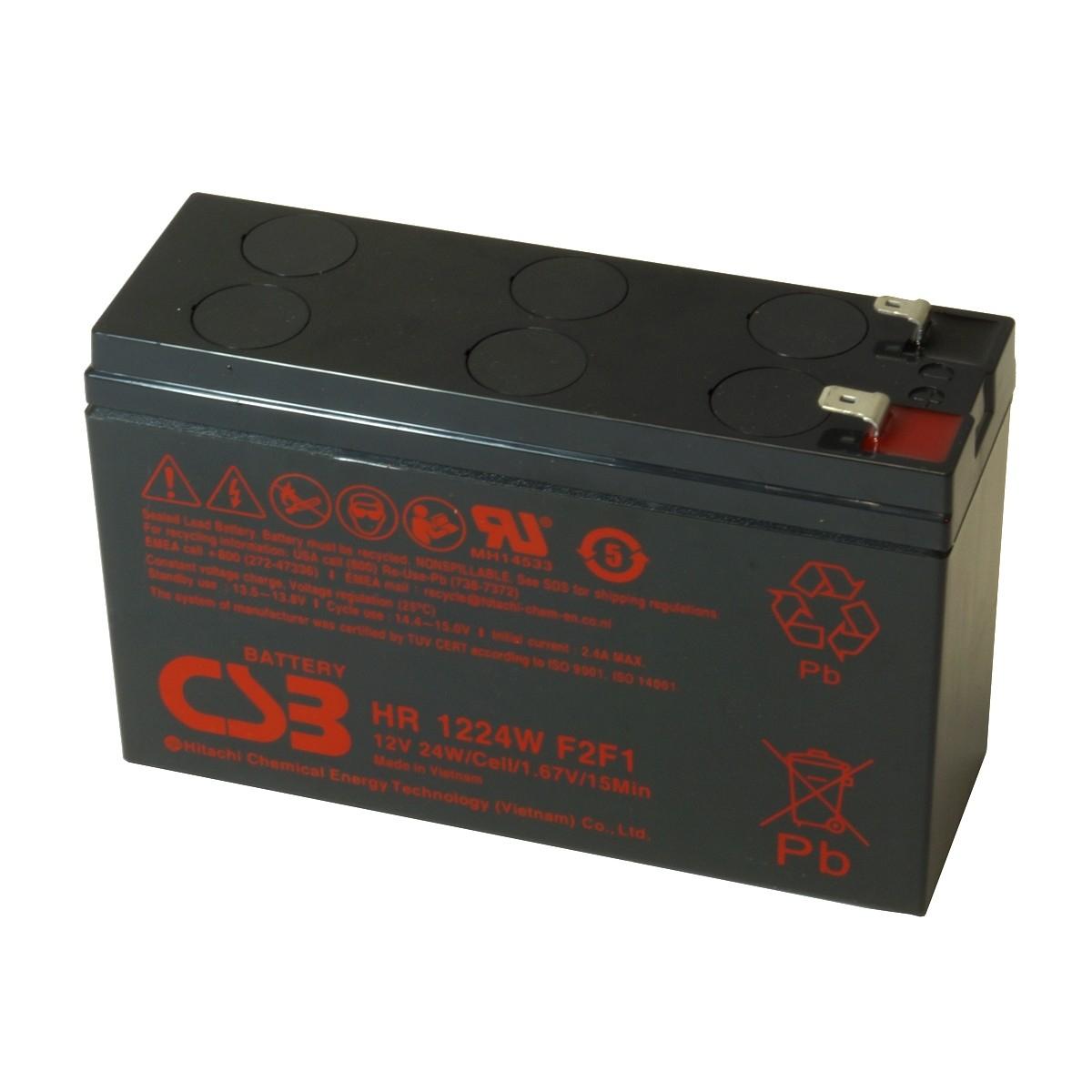 APC RBC106 UPS noodstroom accu CSB Battery