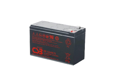12V 9Ah loodaccu HR1234W van CSB Battery