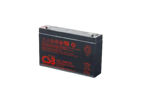 AGM loodaccu 6V 9Ah HRL634W F2 van CSB Battery