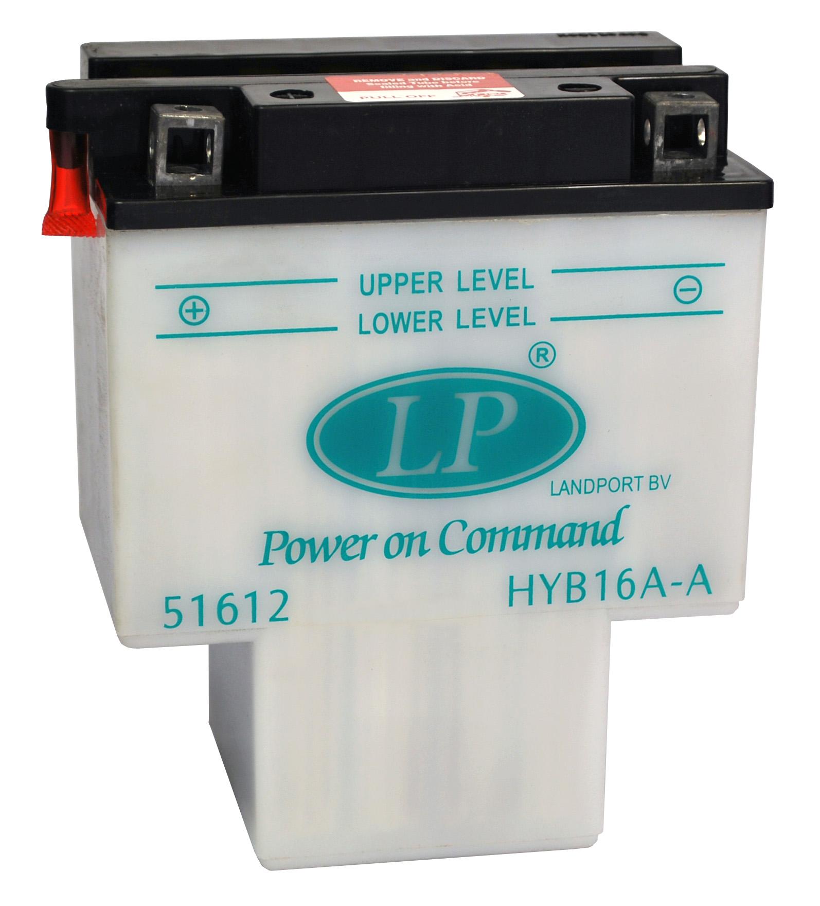 HYB16A-A motor accu met zuurpakket