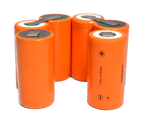 Flitser accu voor de Ikelite DS125, D160, D161