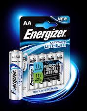 Enegizer Ultra Lithium AA (4 stuks)