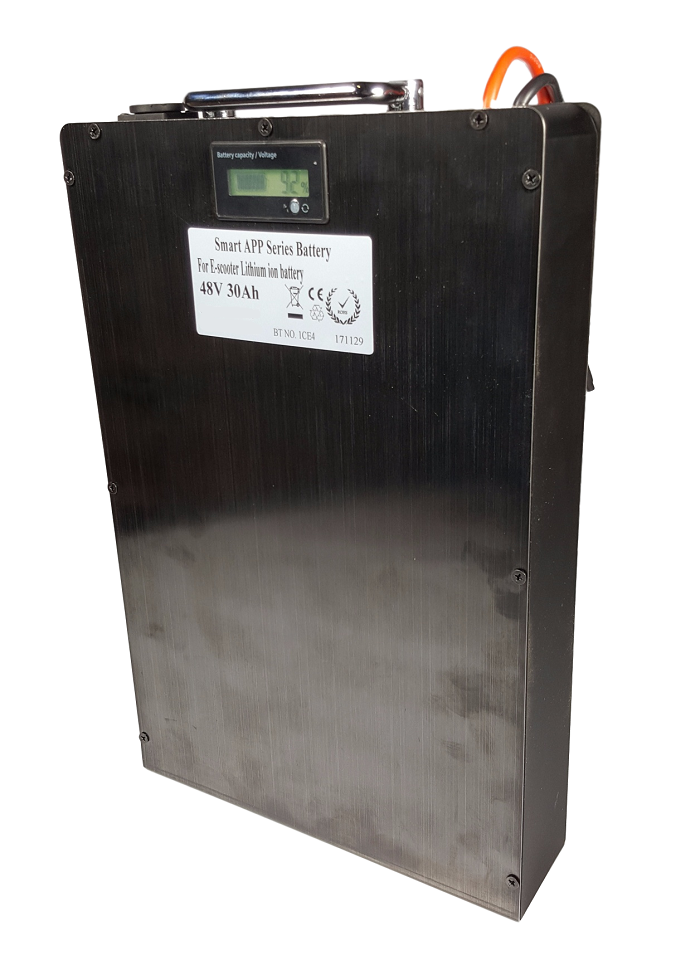 Lithium accu 48V 30Ah (13S) met APP inclusief lader