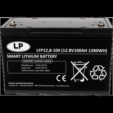 LiFePO4 accu LFP V12-100BT 12,8V 100Ah met APP