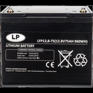 LiFePO4 accu LFP V12-75 12,8V 75Ah