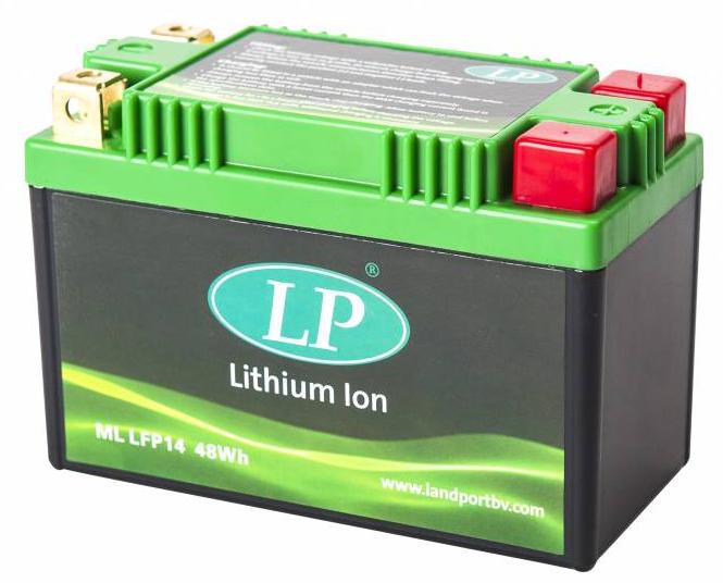 Lithium motor accu LFP14 12V 48Wh LifePO4 Landport