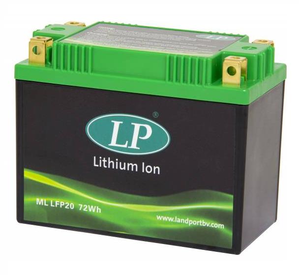 Lithium motor accu LFP20 12V 72Wh LifePO4 Landport