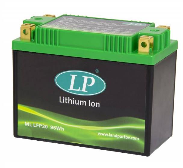 Lithium motor accu  ML LFP30 12V 96Wh LifePO4 Landport