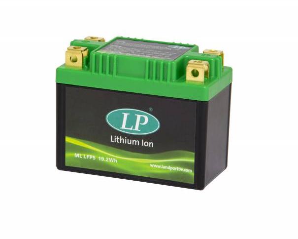 Lithium motor accu LFP7Z 12V 28,8Wh LifePO4 Landport