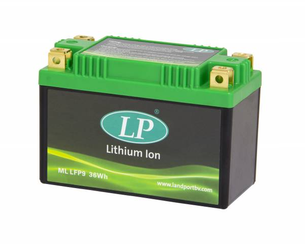 Lithium motor accu ML LFP9 12V 36Wh LifePO4 Landport