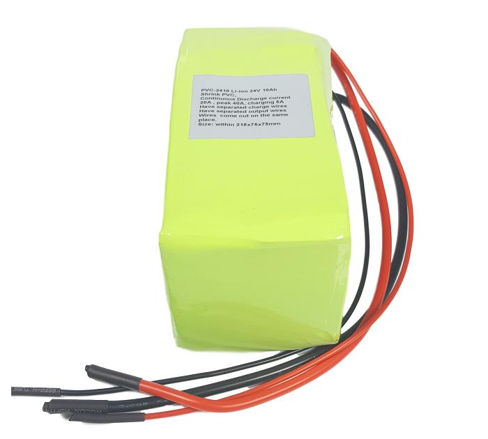 Li-ion batterijpack 24V 10Ah