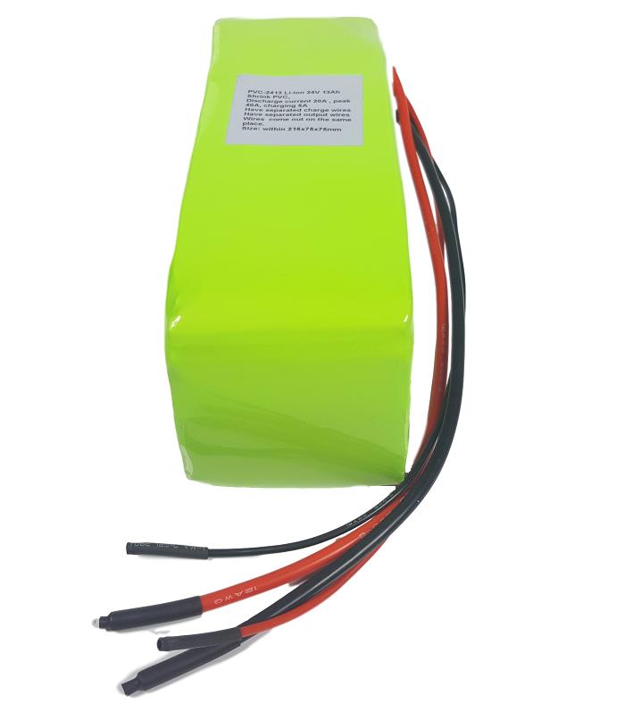 Li-ion batterijpack 24V 16Ah
