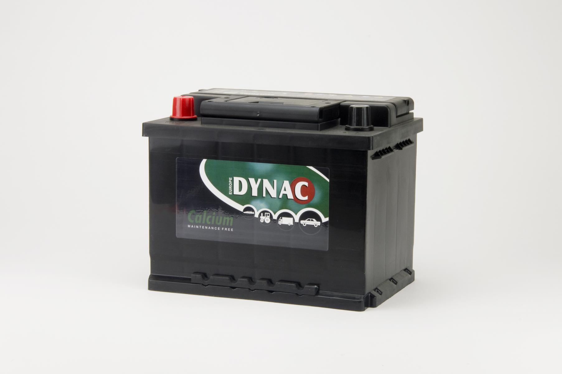 Auto accu / Startaccu 12V 62Ah Dynac calcium LMFV 56221
