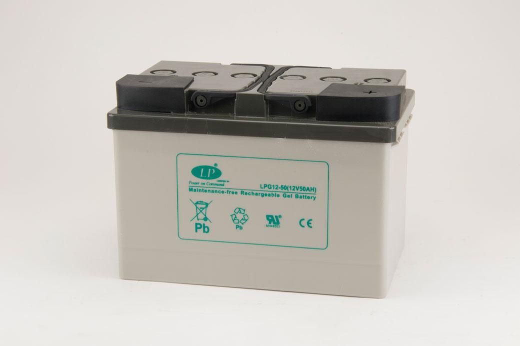 VRLA Gel, LPG 12-50 D (12V 50Ah)