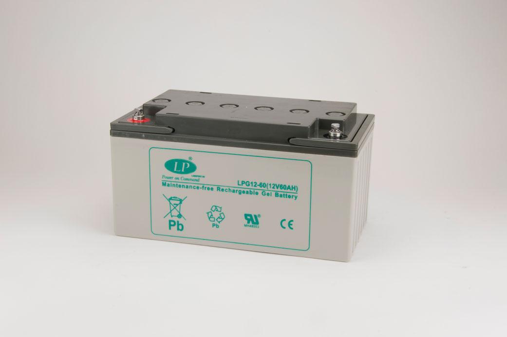 VRLA Gel, LPG 12-60S (12V 60Ah)